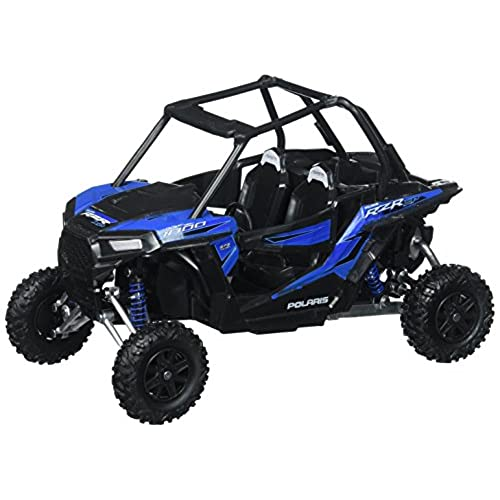Toys & Child 57593 1/18 Scale RZR XP 1000 Polaris Dune Buggy, Woodoo Blue