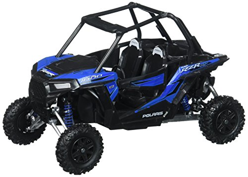 Toys & Child 57593 1/18 Scale RZR XP 1000 Polaris Dune Buggy, Woodoo Blue -