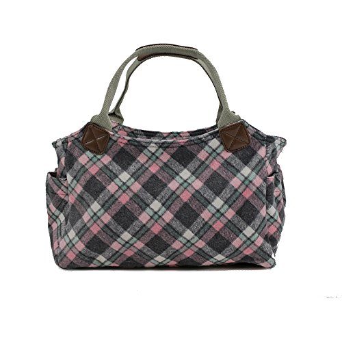 Womens Tote Handbag Tweed UK Pink Work Ladies Shoulder Office Bag New Designer gt0qgxr