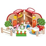 Tobar Wooden Farm Playset