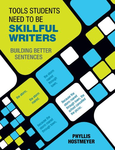 Download Tools Students Need to Be Skillful Writers: Building Better Sentences Pdf