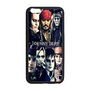 "Onshop Custom Johnny Depp Phone Case Laser Technology for iPhone 6 Plus 5.5"""