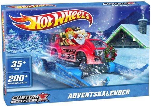 Weihnachtskalender Hot Wheels.Mattel W8981 Hot Wheels Adventskalender
