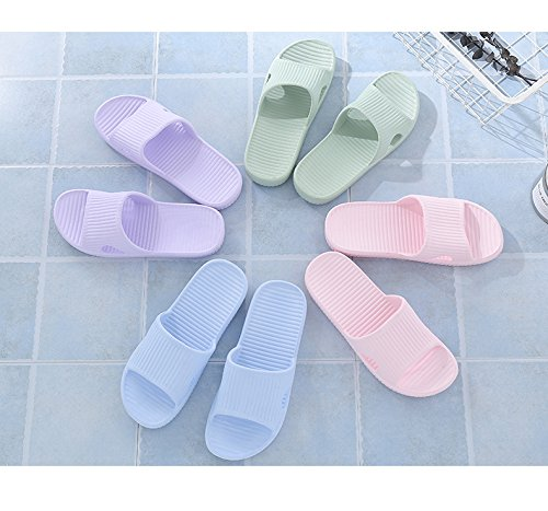 Sandals Slippers Soft Bathroom Slip and Women Shoes Shower House Bath Mens HAOJIALI Pink Non 5vqUfwnf