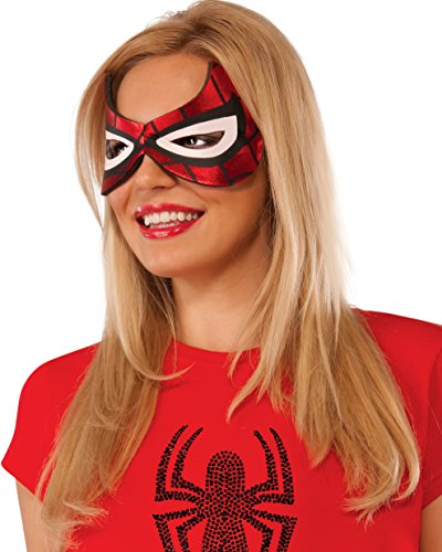 Rubie's Costume Co Women's Marvel Universe Spider-Girl Eyemask, Multi, One (Spider Woman Costume)