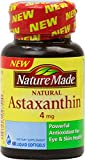 Nature Made Astaxanthin 4mg, Softgel 60 ea (Pack of 12)