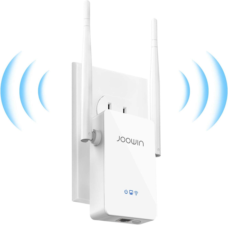 JOOWIN Amplificador de WiFi Repetidor WiFi 300Mbps/2.4G Extensor de Red WiFi Inalámbrico Ap/Repetidor/Enrutador WPS