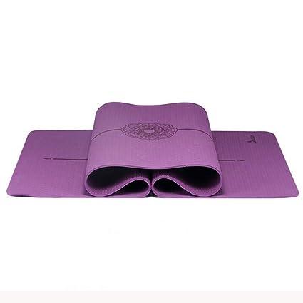 Cassiel Y Y - Esterilla de Yoga para Pilates, 0,8 cm ...