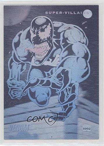 (Venom (Trading Card) 1992 Impel Marvel Universe Series 3 - Holograms #H-6)