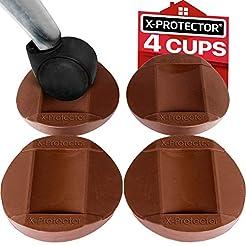 X-PROTECTOR Furniture Cups 4 PCS - Premi...