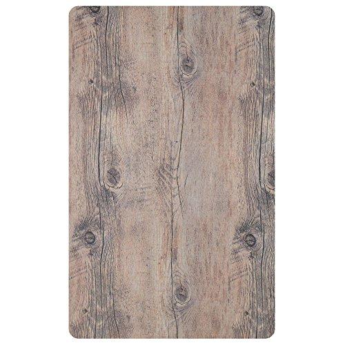 Cold Food Bar Tile Full Size Driftwood Melamine - 21'' L x 12 3/4 W by Hubert
