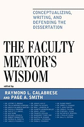 dissertation on mentoring Dr rose dissertation university, llc launches an online coaching and mentoring dissertation website for graduate students and academic professionals.