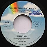 STEELY DAN 45 RPM RIKKI DON''T LOSE THAT NUMBER / PRETZEL LOGIC