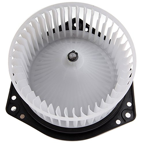 OCPTY A/C Heater Blower Motor ABS w/Fan Cage Air Conditioning HVAC Replacement fit for 1998-1999 Nissan Frontier/1995-1999 Nissan Sentra