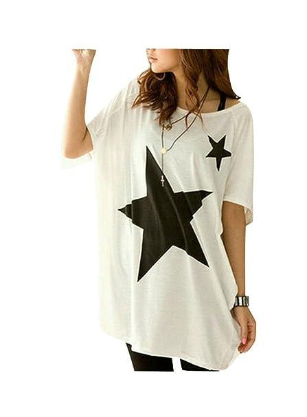 Giacche : ZANZEA Magliette Donna T Shirt Magliette Manica