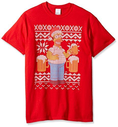 The Simpsons Homer Beer Ugly Christmas