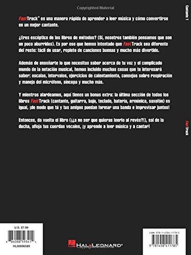 Fast Track Introduccion A La Musica Cantante 1 Para vocs masculinas o femeninas: Blake Neely: 9781458411785: Amazon.com: Books