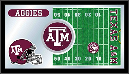- Holland Bar Stool Company NCAA Texas A&M Aggies 15 x 26-Inch Football Mirror
