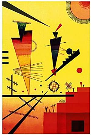 Wassily Kandinsky - STRUTTURA Allegra Impression