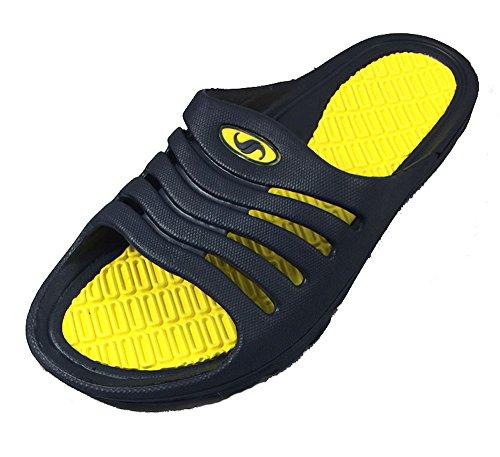 Shoe Shack Dusche und Pool Sandale - Slide On Gelb