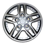 98 honda accord hubcaps - TuningPros WSC-515S15 Hubcaps Wheel Skin Cover 15-Inches Silver Set of 4