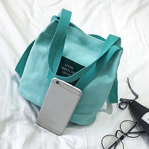 Shoulder Handbag Crossbody Girls Bag Canvas Fashion Ulable Bag Style Korean Woman xc6qz6nIvX