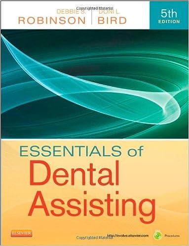 Essentials Of Dental Assisting 5e 5th Edition