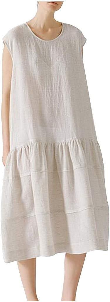 Reooly Las Mujeres del Verano del algodón de la Moda y de ...