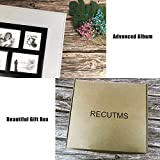 RECUTMS Photo Album 4x6 Holds 600 Photos Black