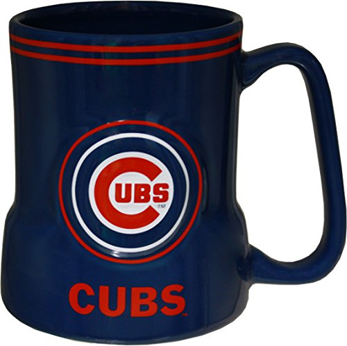 Officially Licensed MLB Chicago Cubs Ceramic Coffee Mug 18oz (Chicago Cubs Collectibles)