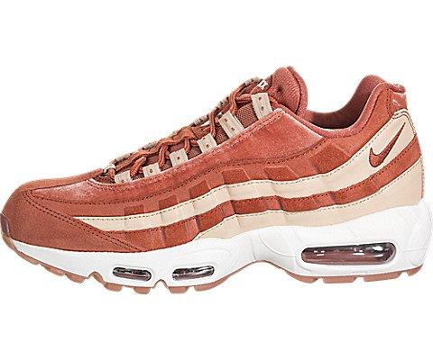 Nike Nke Womens Air Max 95 LX Running Trainers AA1103 Sneakers Shoes (UK 4 US 6.5 EU 37.5, Dusty Peach 201)