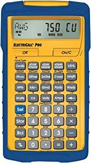 Amazon calculated industries 5070 electricalc pro electrical calculated industries 5070 electricalc pro electrical code calculator greentooth Choice Image