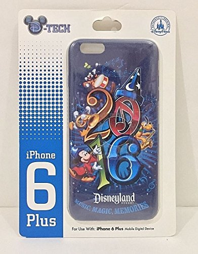 Disney Parks Disneyland Resort 2016 iPhone 6 Plus Case Magic Music (D60 Memory)