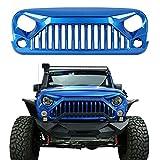 u-Box Vader Gladiator Front Grille Painted Hydro Blue for 2014-2016 Jeep Wrangler JK & Wrangler Unlimited