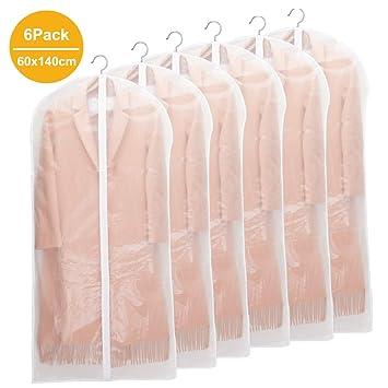 8 St/ück Hochwertiger Anzugsack//Kleiderh/ülle aus atmungsaktivem Material Erstklassiger Schutz Aufbewahrung f/ür Anz/üge und Kleider 100 x 60 cm Kleiders/äcke AOMEES Kleidersack 120 x 60 cm