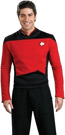 Disfraz de Star Trek próxima generación Uniforme – XL – tamaño del ...
