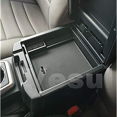 Vesul Armrest Secondary Storage Box Glove Pallet Center Console Tray Fits on Toyota Tacoma 2016 2020 2020 2020 2020: Automotive