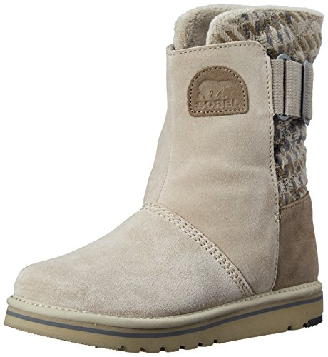 SOREL Women's The Campus Mid Plaid Boot, Silver Sage, 8.5 M US by SOREL