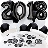 2018 All Star Grad - Confetti and Balloon Graduation Party Decorations - Combo Kit