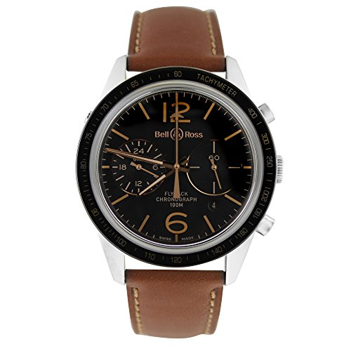Bell-Ross-Vintage-swiss-automatic-mens-Watch-BRV126-FLY-GMTSCA-Certified-Pre-owned