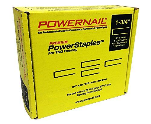 Powernail PowerStaples 15.5ga 1-3/4