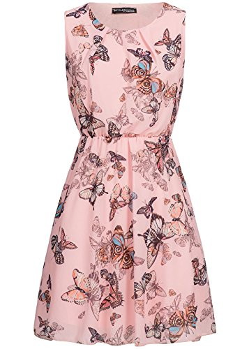 violet Fashion - Vestido - Noche - para mujer Rosa