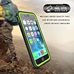 ImpactStrong iPhone 7 Plus/iPhone 8 Plus Case, Ultra Protective Case with Built-in Clear Screen Protector Full Body…
