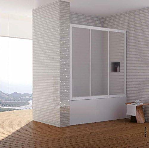 Mampara de baño completo longitud de bañera deslizante (cristal ...