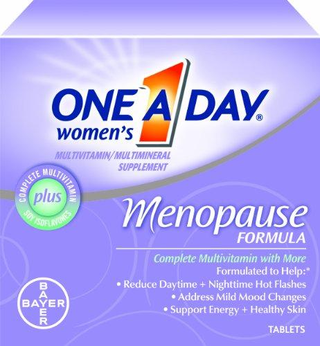 One-A-Journée de la femme Ménopause Formule Multivitamines, 50 comprimés Bouteille