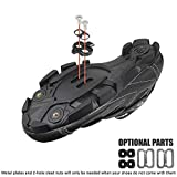 BV Bike Cleats Compatible with Shimano SPD - Spinning, Indoor Cycling & Mountain Bike Bicycle Cleat Set