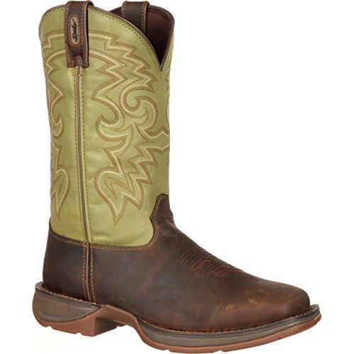 (Durango Men's Rebel DB5416 Western Boot,Coffee/Cactus,9 W US)