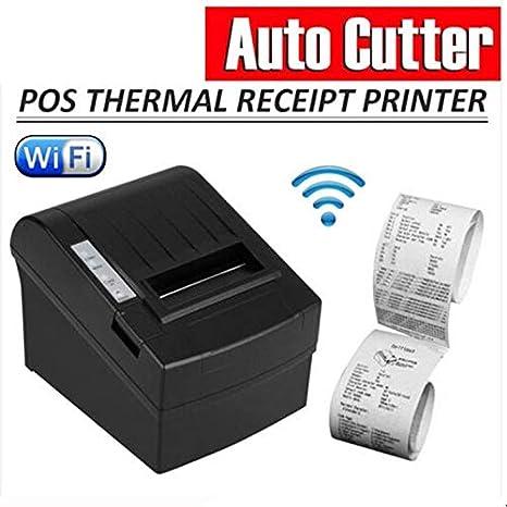 POS-8220 Tamaño Compacto WiFi inalámbrico POS Impresora térmica de ...
