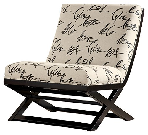 Ashley Furniture Signature Design - Levon Showood Accent Chair - Contemporary - Charcoal