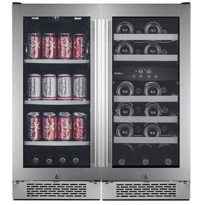 Avallon 23 Bottle + 86 Can Side-by-Side Wine & Beverage Center